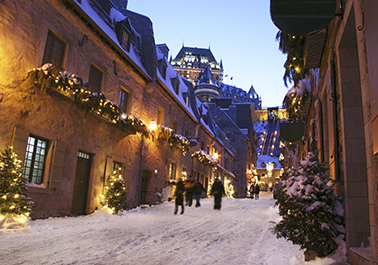 Package Quebec rendez-vous with history