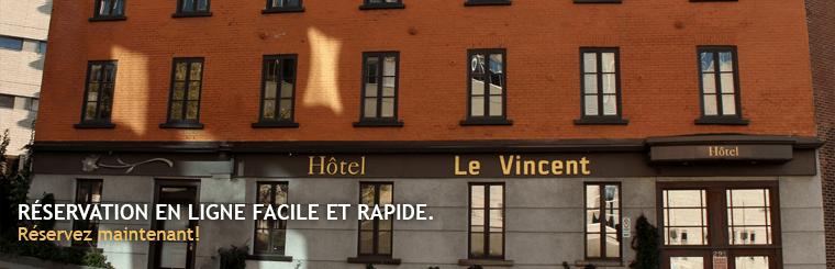 H tel le vincent votre h tel qu bec quartier saint roch for Au saint roch hotel et jardin avignon